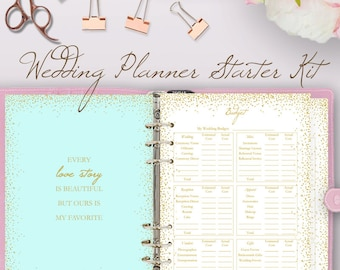 wedding planner downloadable wedding planner book pdf etsy