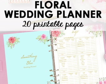 Wedding planner printable wedding planner pages do it wedding planner printable wedding planner book binder printables planning book checklist binder printable letter instant download solutioingenieria