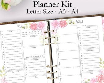 2019 Planner Printable Daily Planner Pages Weekly Planner Etsy