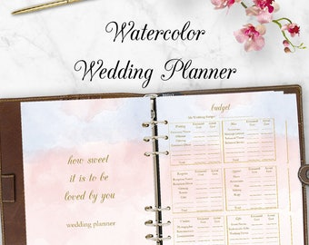 wedding planner printable wedding planner book printable etsy