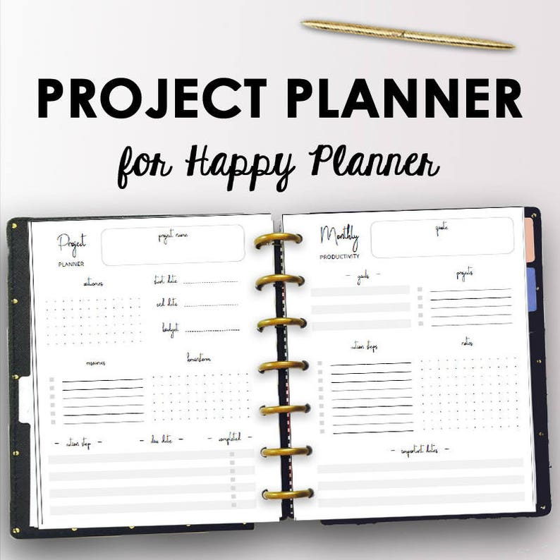 photo relating to Productivity Planner Templates titled Job Planner for Content Planner, Efficiency Printables Regular Venture Coming up with Weekly Printables Efficiency Creating Immediate Down load