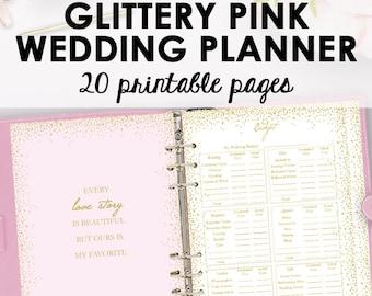 Wedding Planner Book, Wedding Planner Printable, Planning Binder Printables, Checklist Planning Printables, Organization, Instant Download