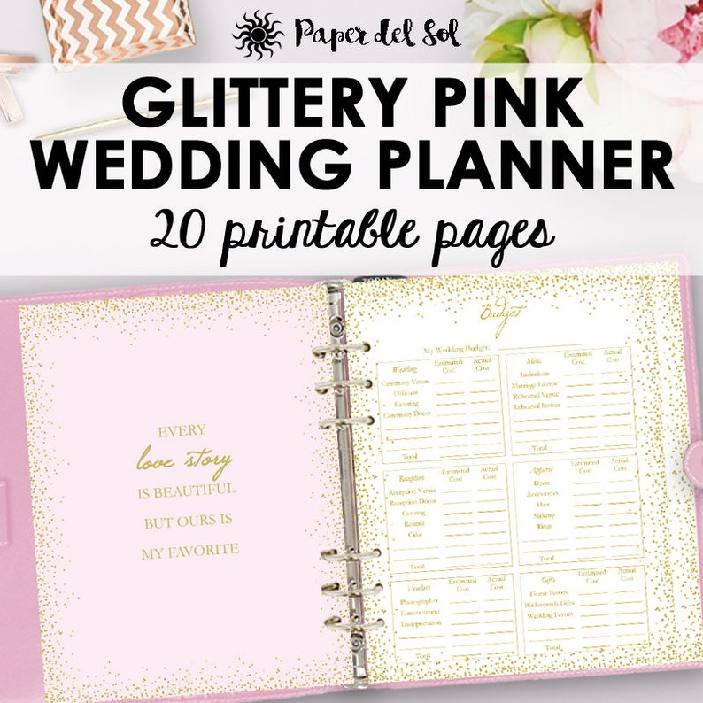 photo about Wedding Planner Book Printable identified as Wedding ceremony Planner E-book, Marriage ceremony Planner Printable, Developing Binder Printables, List Coming up with Printables, Company, Instantaneous Down load