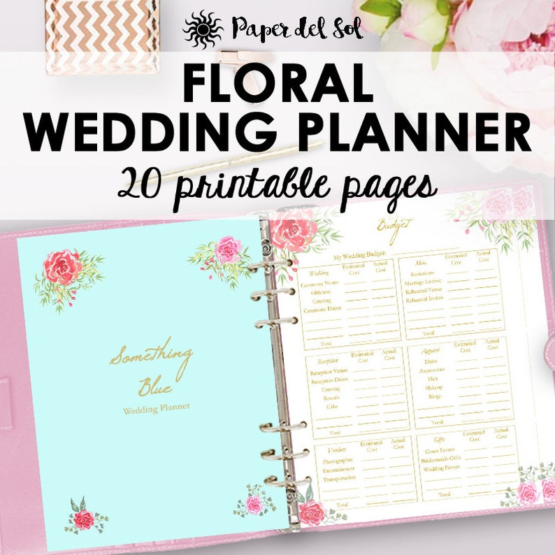 photograph about Printable Wedding Planner titled Wedding day Planner Printable, Marriage Planner Ebook, Binder Printables, Creating Ebook, Record, Binder Printable, Letter Prompt Obtain