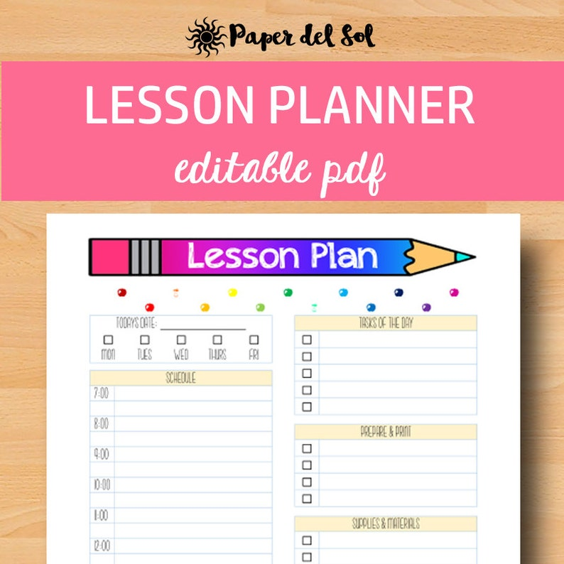 photo relating to Lesson Planner Printable named Instructor Lesson Planner Printable, Instructor Planner 2019, Editable Lesson Method, Homeschool Planner Printable, Letter Dimension, Quick Obtain