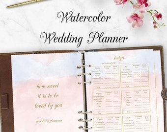 Wedding planner printable wedding planner book binder wedding planner downloadable wedding planner book pdf planning checklist budget planner printables diy solutioingenieria Images