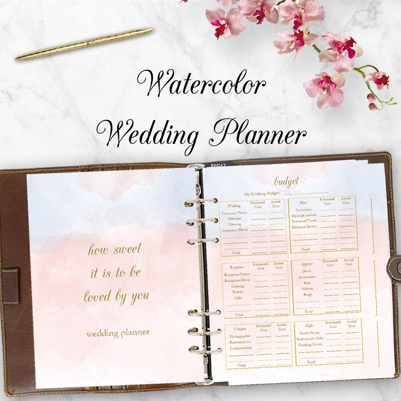 Gifts For Wedding Planner: Wedding Planner Downloadable Wedding Planner Book PDF