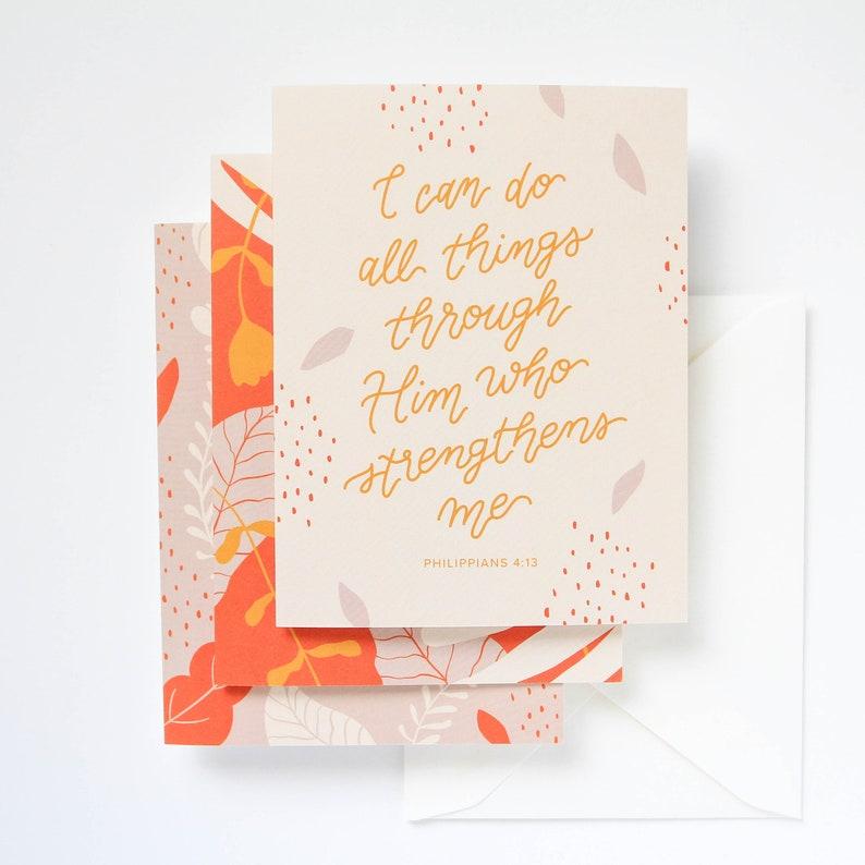 9-Pack Handlettered Illustrated Scripture Encouragement image 0