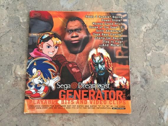 Items similar to Dreamcast GENERATOR DEMO DISC Vol  1 Sega Dreamcast