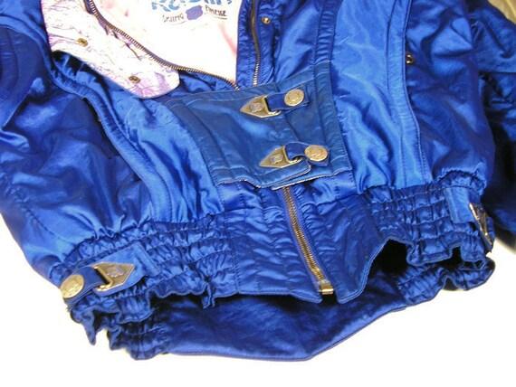 Vintage Ski Jacket Electric Blue Kaelin Vtg Ski Ja