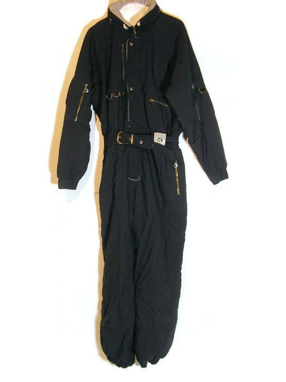 Man's Ski Suit Man's Vintage Powder Suit Snowboard