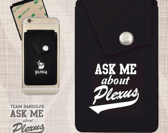 the best attitude b91e9 ae73c Plexus Phone Wallet Plexus Phone Pocket Snap Phone Pocket | Etsy
