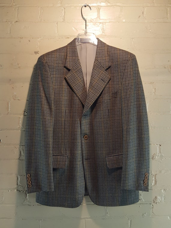 Gieves and Hawkes 38 S Houndstooth Sportcoat