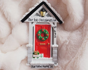 Personalised Christmas ornament / new house gift / first home / new home / personalised bauble / house warming gift / Merry Christmas gift