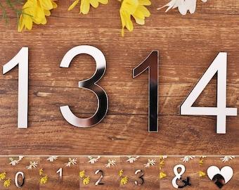 house door numbers, Silver Number 3D Mirror Sticker, 3d number, craft items, number sicker, house number sticker, craft numbers,foam number