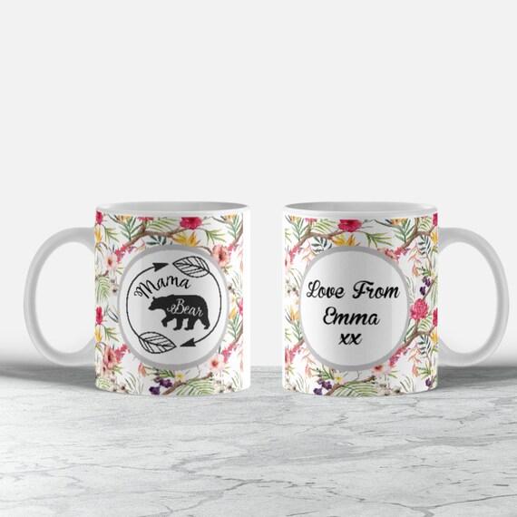 46c4e3d445 Mama bear personalised mug / mama / personalised mug /   Etsy