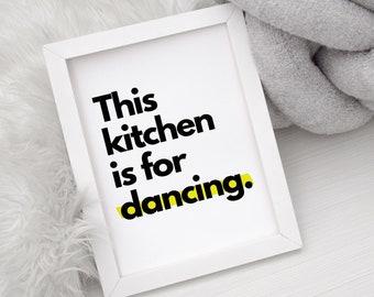 unframed print / kitchen print / funny home prints / A4 print / A3 print / home decor / home prints / posters / Unframed Minimalist Print