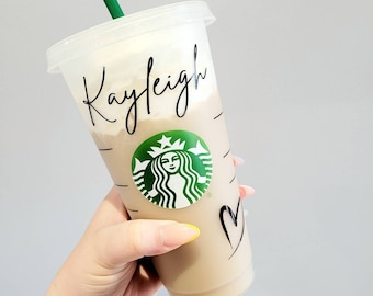 Personalised Starbucks Cold Cup | Venti | Reusable Cup | Cup with Straw | Cold Cup | Personalised Cup | Starbucks Cup | Iced Coffee Cup