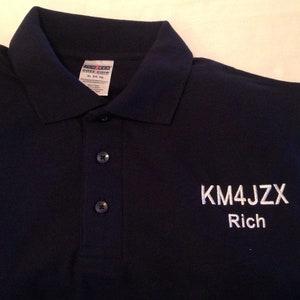 Ham Radio Polo Shirts    Ham Radio Callsigns    Amateur Radio    Fathers Day    Ham Radio Gifts    Field Day    Ham Radio Christmas gift