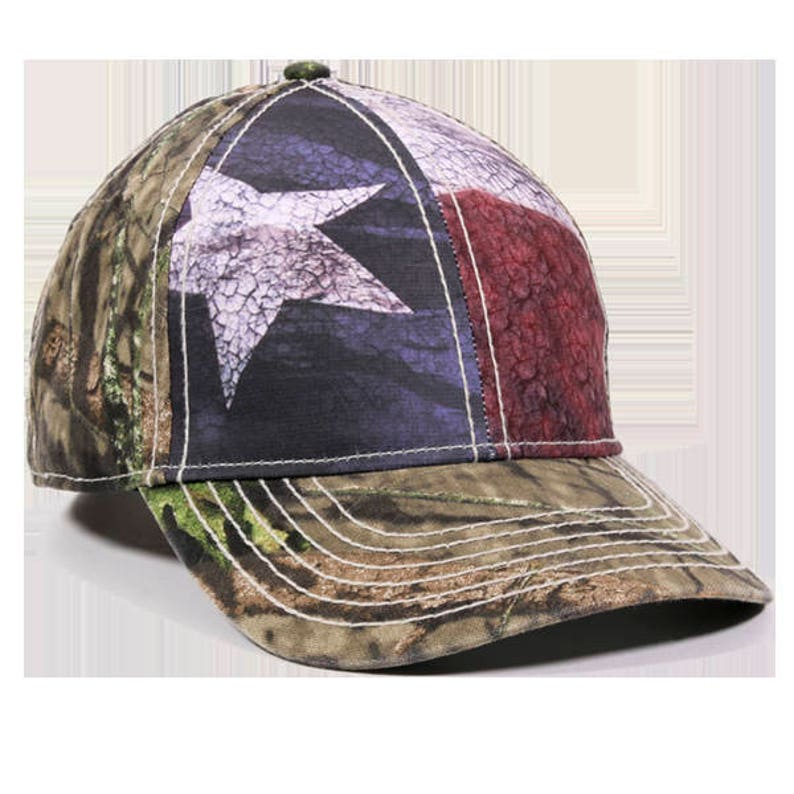 b98ca306e15e05 Texas Flag Hat / Flag Hat / Camo Hat / Mossy Oak Break-Up | Etsy