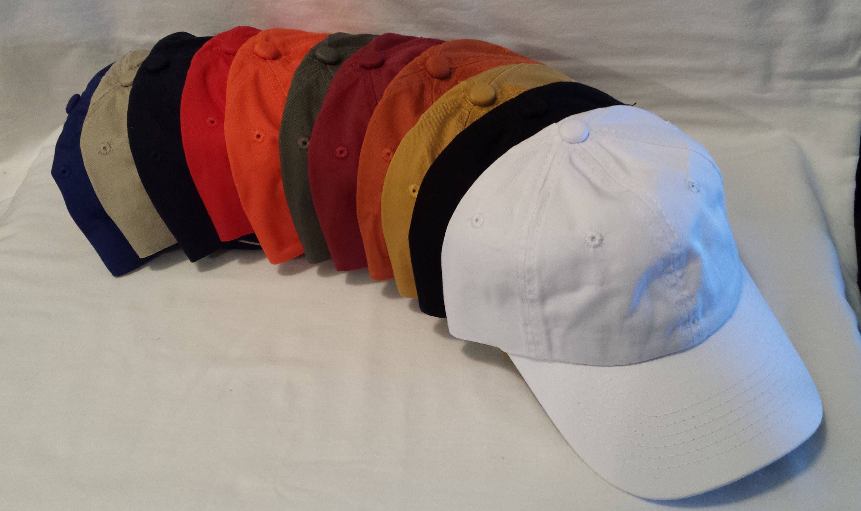 9c80be9a4551b 12 Custom Embroidered Hats   Custom Hat   Personalized Hat