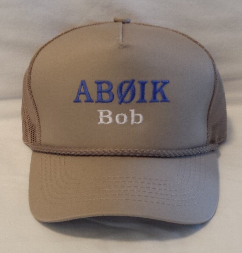 6210365692561 Trucker Style Embroidered Call Sign Hat Amateur Radio Ham