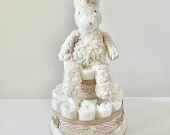 Unicorn diaper cake | Unicorn Diaper cake