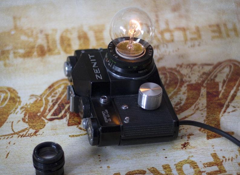 Camera light ZENIT Camera lamp Vintage lamp