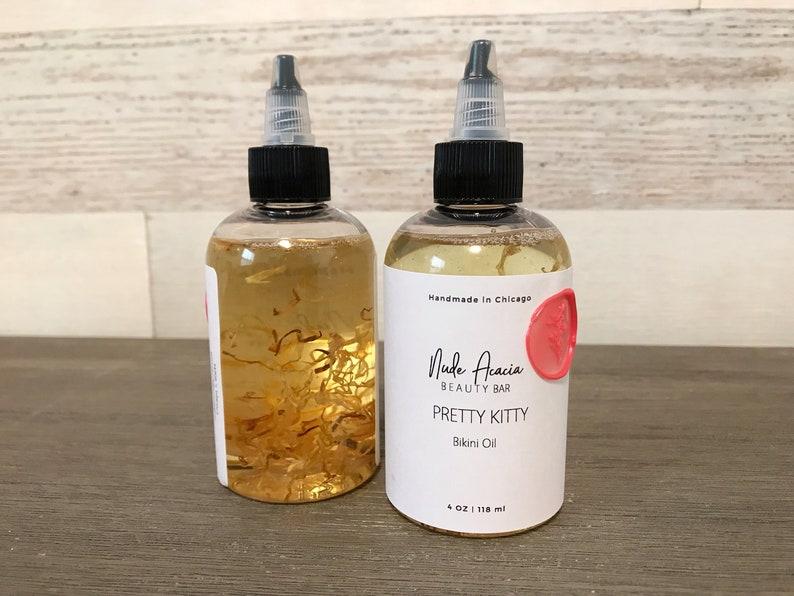 Pretty Bikini Oil | Body Oil, Body Moisturizer, Aftershave, Shaving oil,  Vegan body oil, Natural body oil, Bikini line, Ingrowns, Dry skin