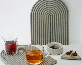 Coaster / Centrepiece / Homewares / Concrete ornament / Decorative item / Gifts for her / Tray / Tableware