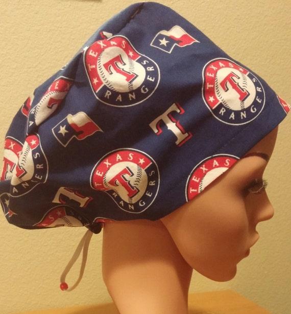 a8201b28ea9 Women s Surgical Cap Scrub Hat Chemo Cap MLB Texas