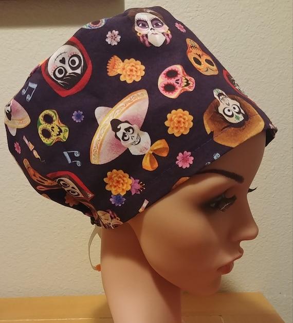 Women's Surgical Cap, Scrub Hat, Chemo Cap,  Coco
