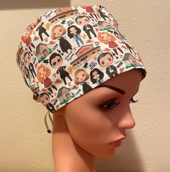 Women's Surgical Cap, Scrub Hat, Chemo Cap, Schitts Creek
