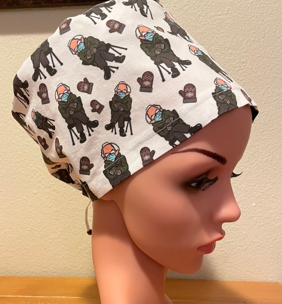 Women's Surgical Cap, Scrub Hat, Chemo Cap, Bernie's Gloves