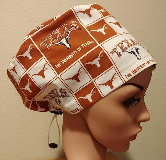 b44624463b6 ... authentic womens surgical cap scrub hat chemo cap university of texas  longhorns e3583 056db