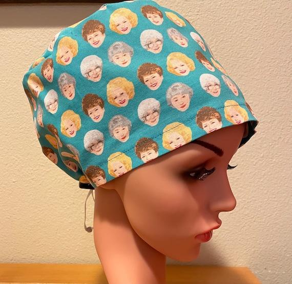 Women's Surgical Cap, Scrub Hat, Chemo Cap, Golden Girls