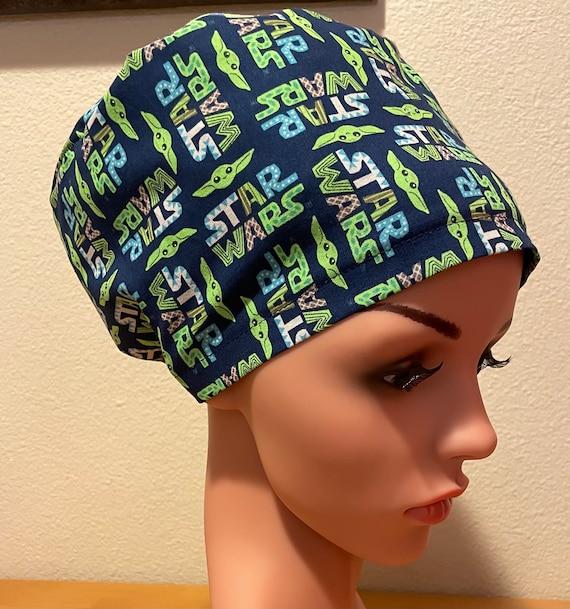 Women's Surgical Cap, Scrub Hat, Chemo Cap, Star Wars