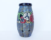 Art Deco House of Amphora polychrome ceramic vase