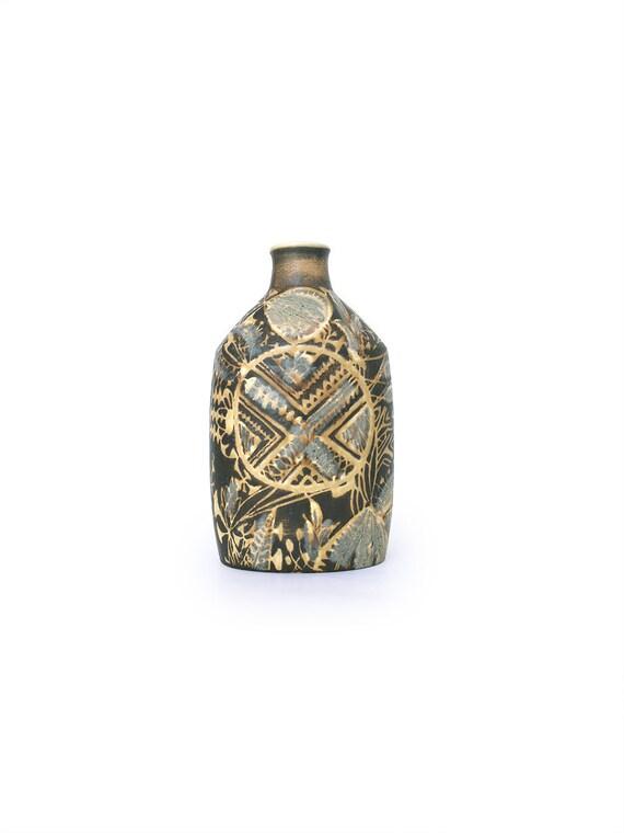 Royal Copenhagen Fajance Vase Baca Series By Nils Thorsson Etsy