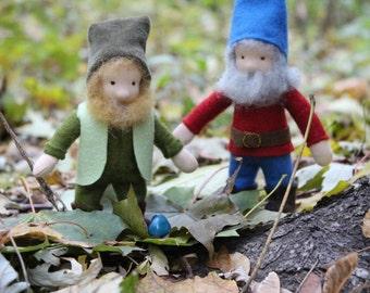 Waldorf Gnome //Felt Gnome //Waldorf Doll //Waldorf toys