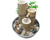 Bamboo Cascading Water Feature M