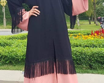 The Classic Abaya Sewing Pattern and Tutorial 6 Sizes S, M, L, XL, XXL, XXXL