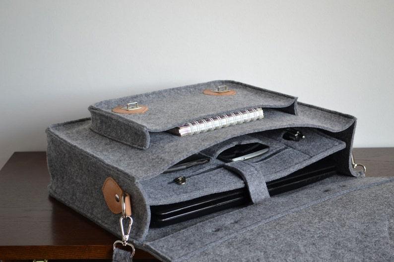 13-inch laptop case bag SALE large laptop bag OFF SALE MacBook Air crossbody bag felt leather messenger bag