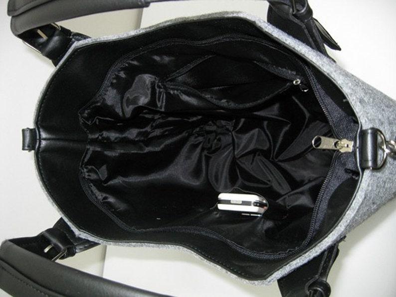 Cat design Felt bag Cat lover gift Cat purse Women felt bag Felt tote bag Cat bag Felt shoulder bag Cat design bag Felt handbag
