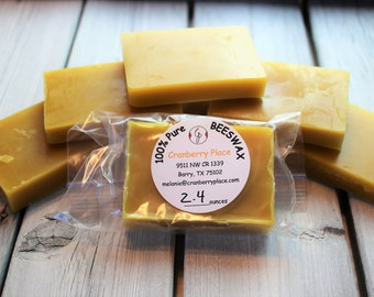 BEESWAX 100% Pure made by Texas bees