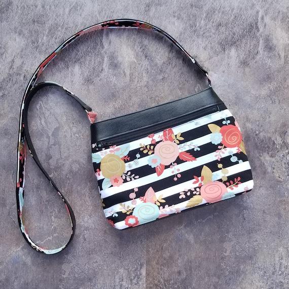 Iggy Large Purse PDF Sewing Pattern 10.5 x 12 x 6 Purse  Travel Bag Iggy Bag 10 Slip Pockets