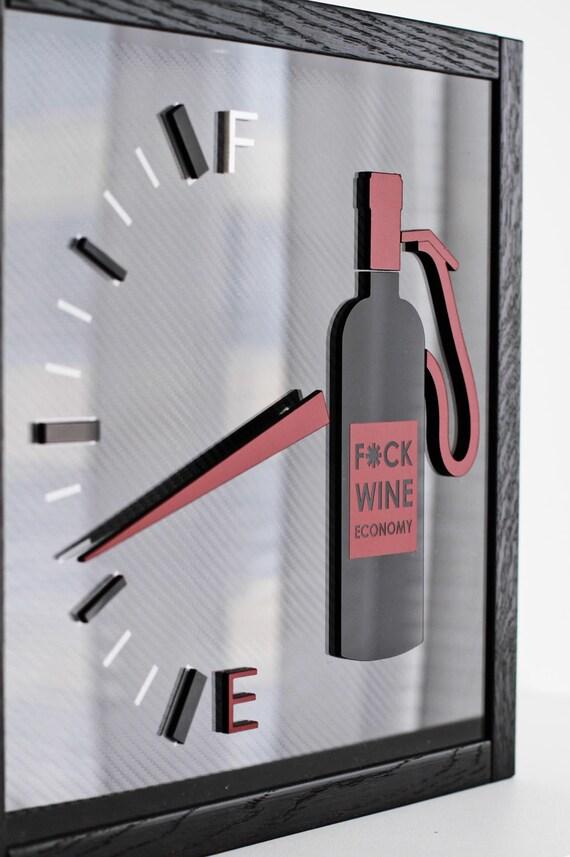 Wein Korken Sammler Shadow Box Fuck Wein | Etsy