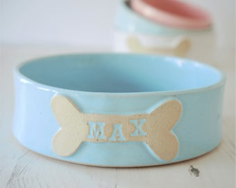 Dog bowl, pet bowls, large dog bowl, dog water bowl, dog food bowl, personalized dog bowl, ceramic dog bowl, ceramic dog bowl, dog gift