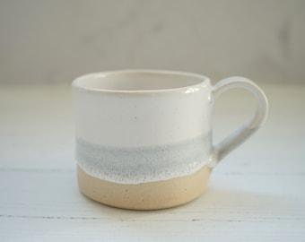 Ceramic mug, coffee mug, mug, mugs, pottery mug, tea mug, mugs, pottery, grey mug, handmade gift, housewarming gift, handmade mug, white mug