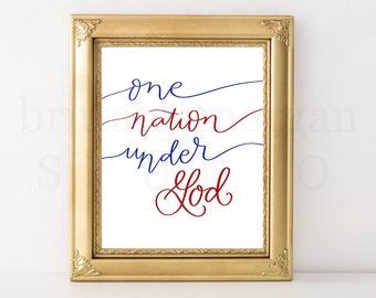 One Nation Under God *DIGITAL DOWNLOAD*